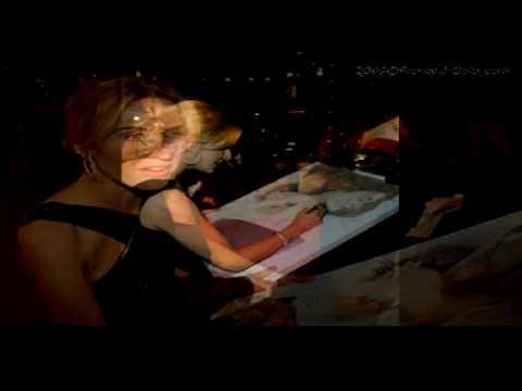 kate winslet titanic portrait. KATE WINSLET Titanic signing