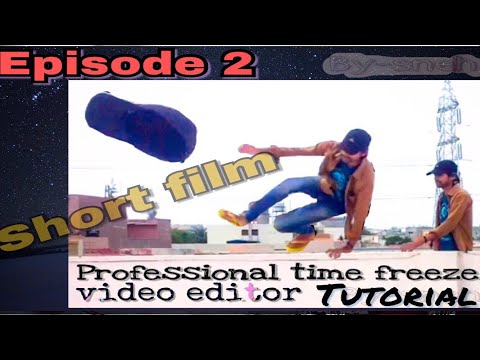 Time freeze video editor || clone kinemaster || time freeze short clip