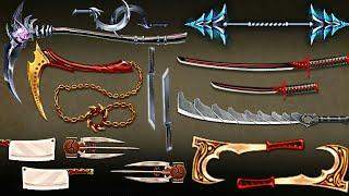 Shadow Fight 2  TOP 10 DEADLIEST Weapon