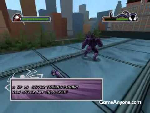 Ultimate Spiderman Black Suit walktrough - Spidey vs. Venom 2