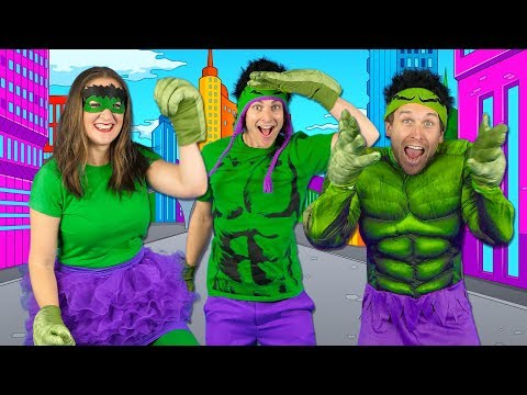 Kids Superhero Song  - Let's Be Superheroes | Action Songs for Kids - Bounce Patrol