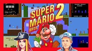 Super Mario Bros. 2! Starting Up World 2 with Amber & Eddy