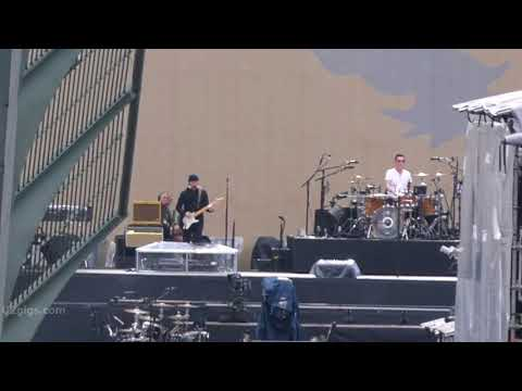 U2 You're The Best Thing About Me (soundcheck), Mexico City 2017-10-02 - U2gigs.com