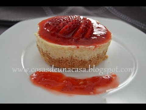 Mini Tartas de Queso o Mini Cheesecake