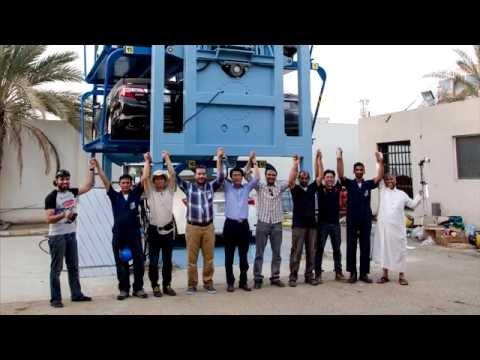 KSA – Arabia Saudita, Tecnologia e creatività, prima installazione SmartParking