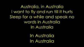 Watch Manic Street Preachers Australia video