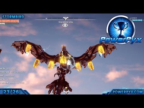 Horizon Zero Dawn - All Types of Machines (Locations & How to Kill Them)