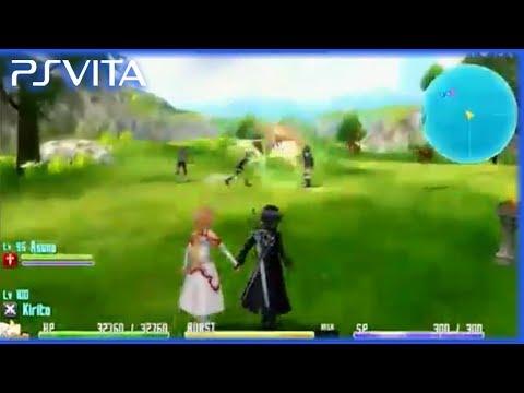PS Vita - Sword Art Online: Hollow Fragment | Demo Gameplay Part 1 (Livestreaming Recorded)