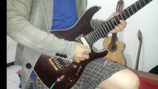 Avenged Sevenfold - Seize the day , guitar solo cover a7x