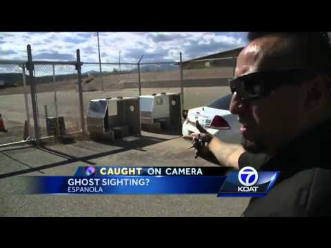 NM police claim ghost caught on surveillance cam