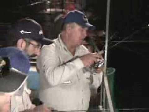 Programa Pesca Dinâmica - Pescaria de Peixe Rei na represa de Salto Santiago - PR