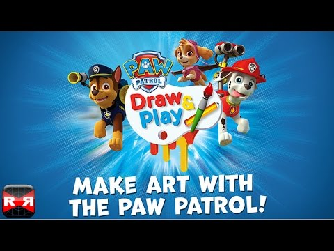 PAW Patrol Draw & Play (By Nickelodeon) - iOS - iPhone/iPad/iPod Touch App Review