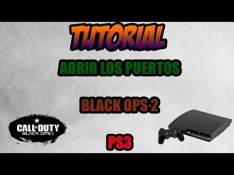 TENER NAT ABIERTA EN BLACK OPS 2 PS3 || TUTORIAL ABRIR LOS PUERTOS