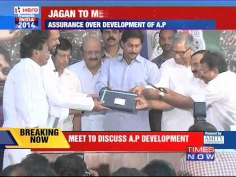 YSR Congress chief Jaganmohan Reddy to meet Narendra Modi