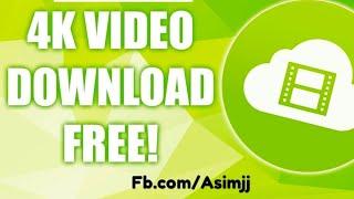 How To Download 4K or HD Videos  - 2016 in Urdu / Hindi
