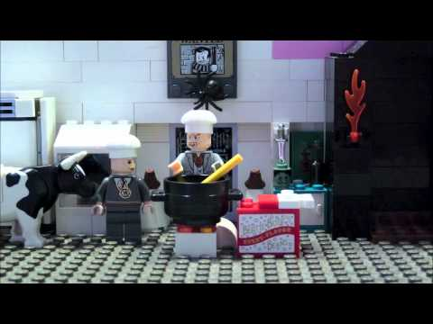 LEGO HARRY POTTER-COOKING WITH WORMTAIL-EVIL CAKE