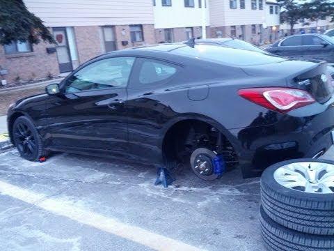 How To Paint Car Rims / Wheels