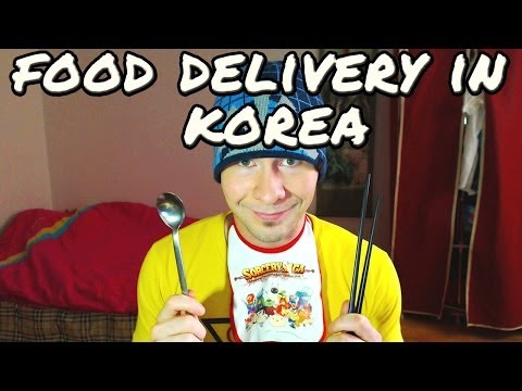 Food Delivery in Korea - Wilderman Weekends #2