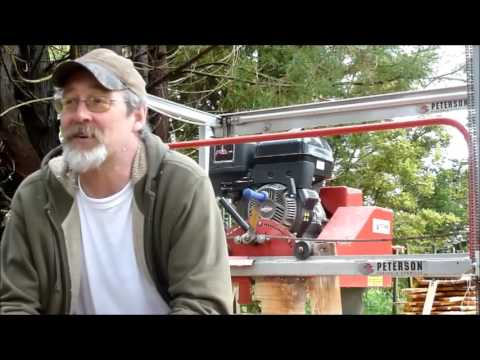 The new Junior Peterson Portable Mill (JP) - cut size restrictions