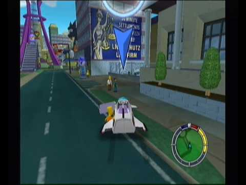 The Simpsons Hit and Run Walkthrough pt4