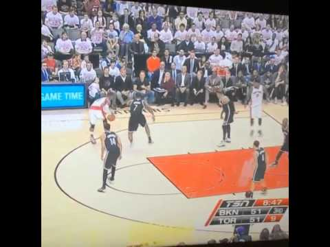 Drake Diss Jay-Z At Toronto Raptors vs The Brooklyn Net Game