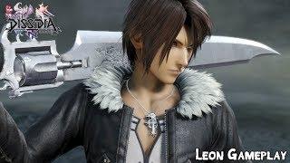 Dissidia Final Fantasy NT - Squall Leonhart Gameplay [FF-VIII]