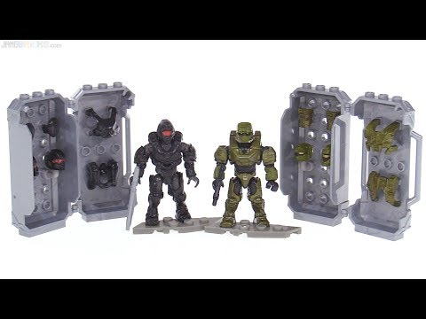 Mega Construx Halo Covert Ops & Siege Armor Packs reviewed