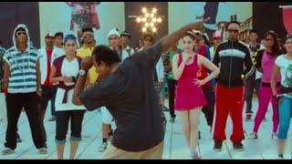 Rachaa - Bramhanandam Doing Funny Dance Comedy Scene - Racha Movie Scenes - Ram Charan, Tamanna