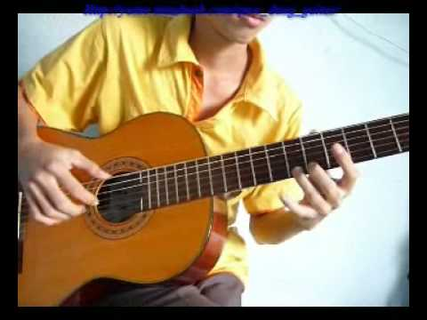 Guitar Trieu Doa Hong( Million Scarlet Roses)