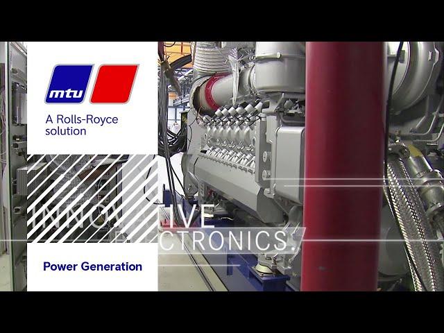 MTU Onsite Energy: Biogas cogeneration systems