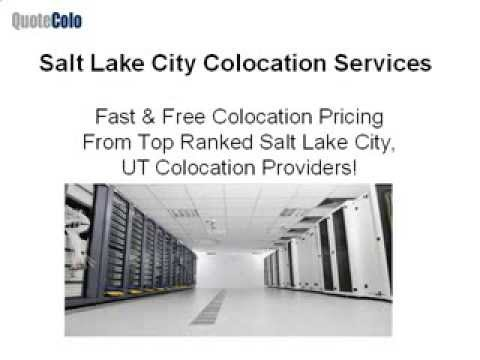 Salt Lake City Colocation Services