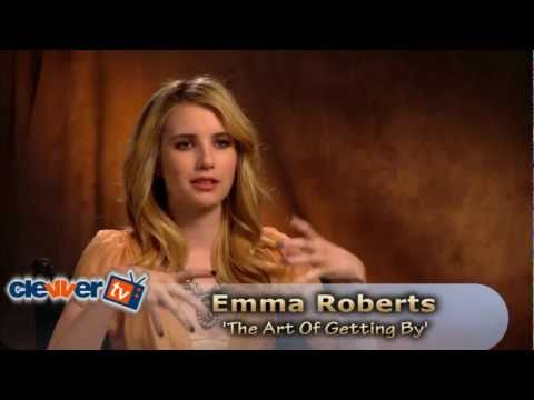 Emma Roberts 'The Art Of Getting By' Interview