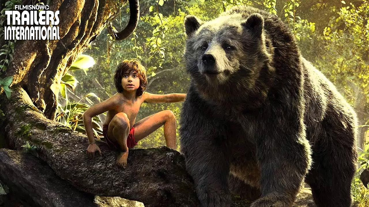 「ジャングル・ブック」予告編 The Jungle Book Japanese Trailer [HD]