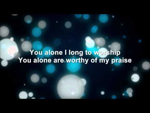 Charlie Hall - You Are Worthy Of My Praise