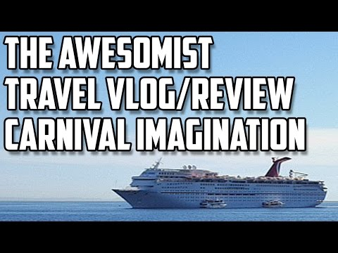 Travel Vlog/Review: Carnival Imagination Cruise.