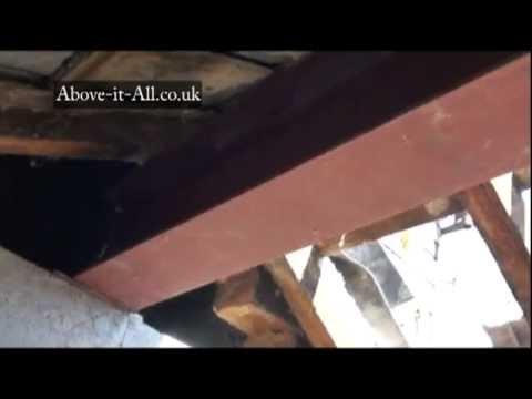 Dormer Loft Rsj Roof Support Youtube