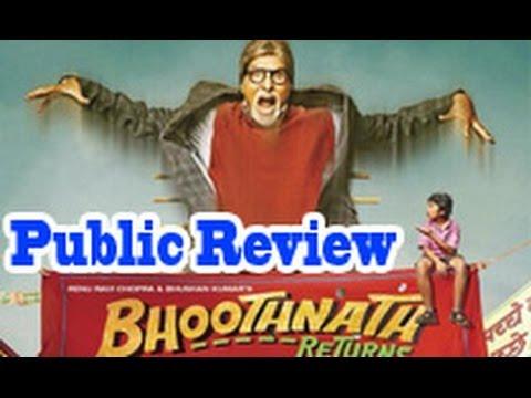 Bhoothnath Returns Public Review   Hindi Movie   Amitabh Bachchan, Parth, Boman Irani