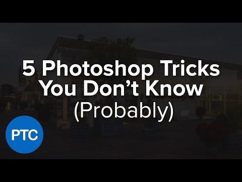 5 Photoshop Tricks You Don't Know