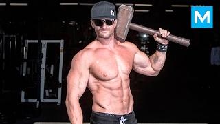 REAL MUSCLES - Scott Mathison - Bodyweight Workout  Muscle Madness