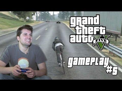 GTA V - GAMEPLAY #5 [FRANK MATANO]