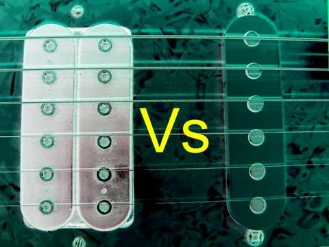 Humbuckers Vs Single Coil Pickups Music Videos