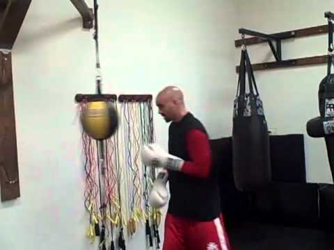 Boxing Basics: Double end bag like Manny Pacquiao & Floyd Mayweather Image 1