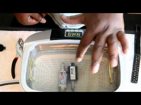 Airsoft AEG Motor Cleaning with Ultrasonic Cleaner