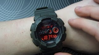 Casio G-Shock GD-100MS-3ER Military Green