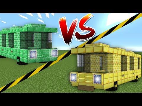 ALTIN OTOBÜS VS ZÜMRÜT OTOBÜS (Minecraft)