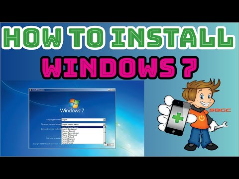 How to Install Windows 7 with USB or DVD Complete Tutorial in Hindi thumbnail