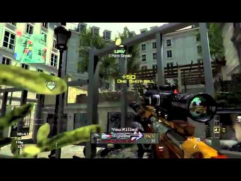 First MW3 Amazing Sniping Montage!