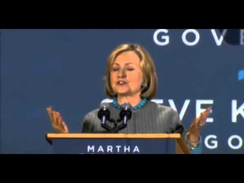 """Clinton Shifts Left: """"Don't Let Anybody Tell You"""" That """"Businesses Create Jobs"""""""