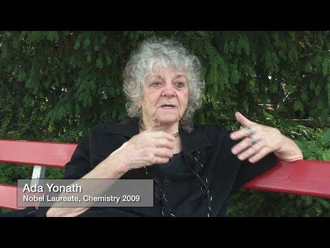 Ada Yonath: Do What is Burning Inside You