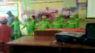 Video Lucu Anak Play Grup Pentas di Acara Parenting 2014